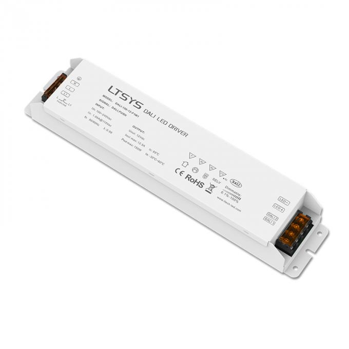 Dali Dimmable Driver 100-240V input,DC12V 150W CV Constant Voltage Power Driver