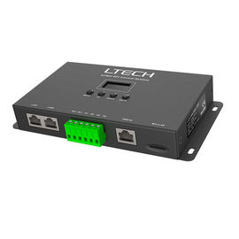 China Black Artnet To SPI Artnet Pixel Controller With RJ45 DMX Connection supplier