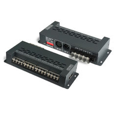 China 8 Channel LED DMX Decoder Anti - Lightning Strike And ESD Protection supplier