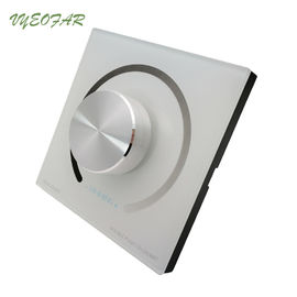 China DC 12V 24V 12A LED Dimmer Switch Single Color Strip Dimmer L86xW86xH36mm distributor