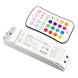 Led Light Strip Rf Controller , Led Strip Light Dimmer Unit With Wireless Controller