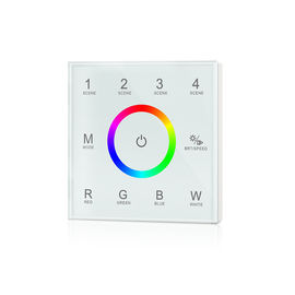 Ultra Sensitive RGBW LED Controller , Led Dimmer Touch Panel No Noise
