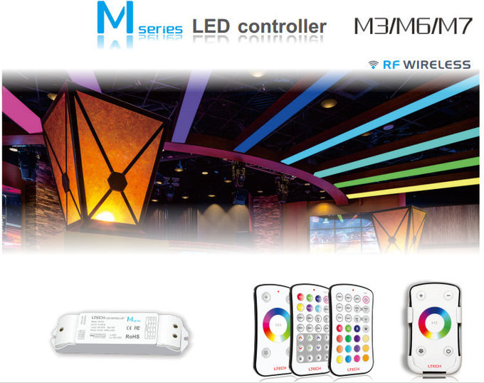 Wireless Rgb Wifi Led Strip Controller Strong Obstructions Penetrating Ability
